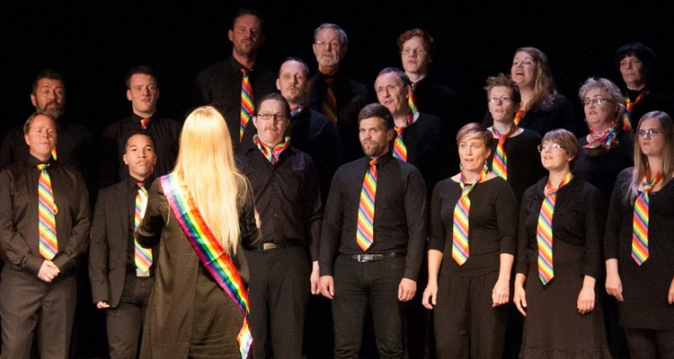 The Reykavik Queer Choir.