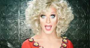 Irish drag queen and lgbt rights activist Panti Bliss.