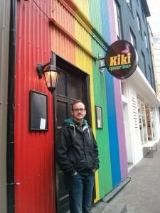 At night out at Kiki Queer Bar.