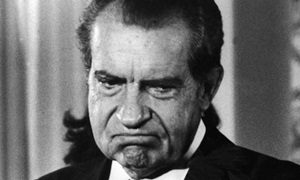 """Nixon: """"Do you know what happened to the Romes, Romans? The last six Roman emperors were fags. The last six. Nero had a public wedding to a boy. Yeah."""""""