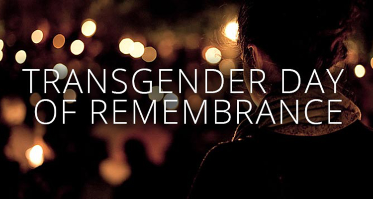 Transgender Day of Remembrance (TDoR) is held annually on November 20th to remember people who have been killed, shown hatred or feared due to trans-phobia. The aim is to bring attention to the challenges transgender people face with events such as candlelight vigils, art shows and film screenings.