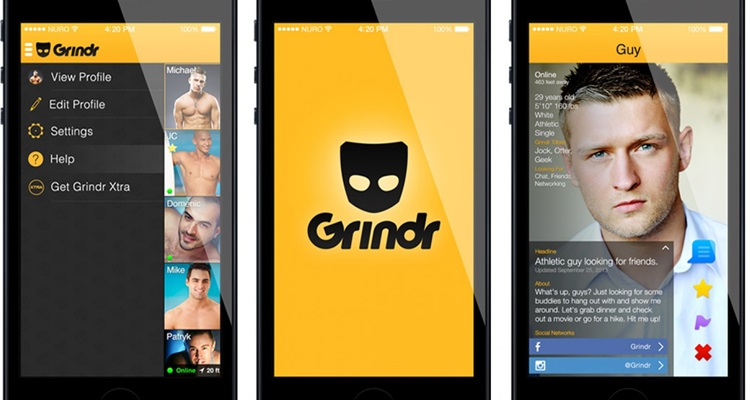 choosing grindr profile picture