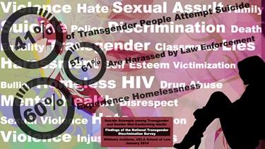 Transgender Discrimination Infographic 2014 (K. Charles Moore).