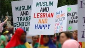 Gay muslims are becoming more and more visible.