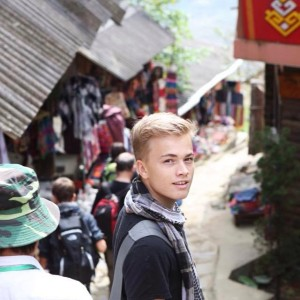 Vífill who's turning 17 later this year has lived and studied in Iceland, Switzerland and Singapore. He's a practice swimmer, a piano player, a traveler, a student, a friend and gay.