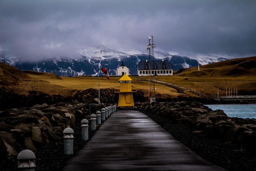 Viðey Island. By photographer Dagur Jónsson.