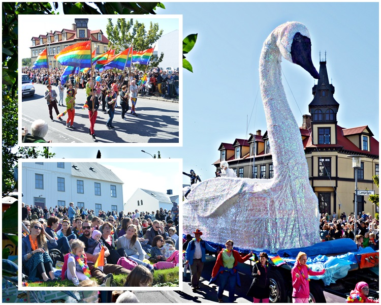 Even though the program for Reykjavík Pride includes around 30 events, in addition to off-venue events, to the majority of Icelanders, Pride is all about the parade. It's estimated that around 100,000 people watch the parade every year.