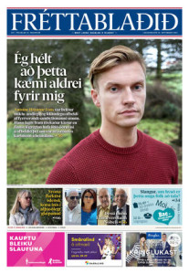 In a recent interview with local newspaper Fréttablaðið Antoine Hrannar Fons described the horrific mental and physical violence he endured at the hands of his former partner.