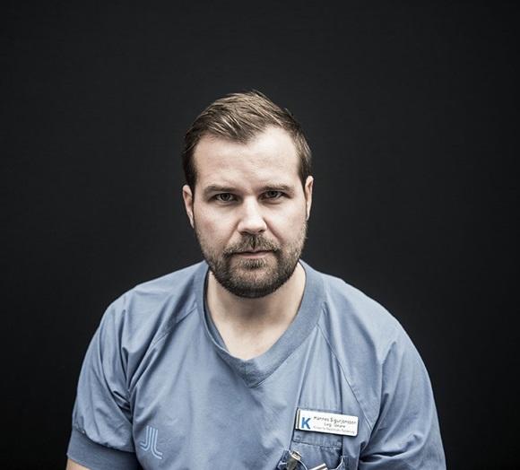 Hannes Sigurjónsson. Photo/(c) Dagens Nyheter