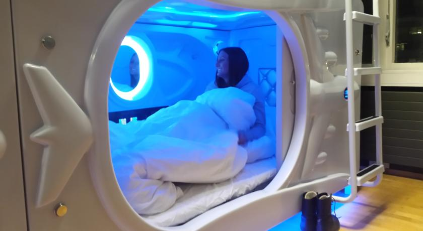 Iceland is one of the first countries in Europe opening a capsule hostel for travellers.