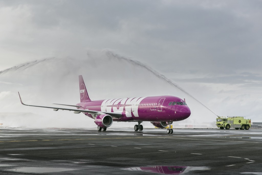 WOW air is adding three Airbus A220-300 jets to its fleet. The first one arrives in early March and will have the registration name TF-GAY. The other two planes arrive in June and will be given the names TF-LUV and TF-WOW. TF-GAY will be used for WOW Air's inauguration flight to San Francisco this summer, revering the city's queer community and its important role in queer culture's history.