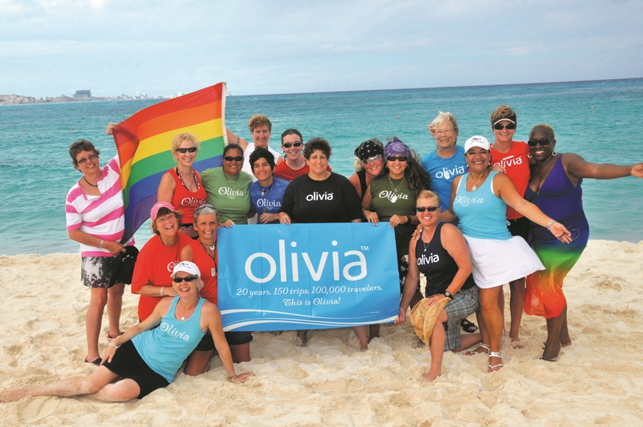 Olivia offers various types of trips and holidays for women, not only lesbians, and then also family holidays for LGBTI+ persons.