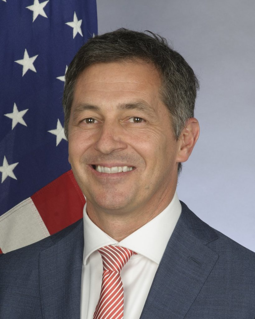 Randy W. Berry is the U.S. State Department's first-ever Special Envoy for the Human Rights of LGBTI Persons.