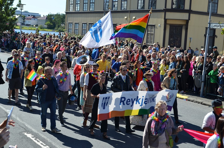 """things started rolling when Reykjavík city offered its support. """"The city has been a huge beneficiary right from the start, and all the mayors have been very supportive."""