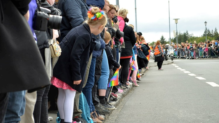In other countries Pride is usually held in June but since Iceland celebrates independence in June it was decided to have Reykjavik Pride on the first weekend after labor day.