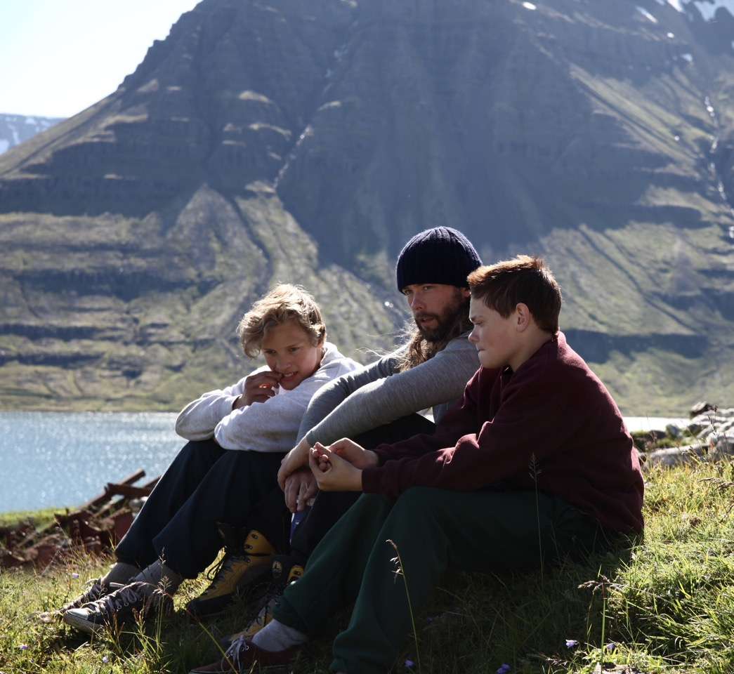 Heartstone' is set in the beautiful but yet harsh nature of Iceland and portrays the journey of friendship and love between two young friends. As one tries to win the heart of a girl, the other discovers new feelings toward his best friend. Here Guðmundur is on set with the leads, Blær Hinriksson (on the left) and Baldur Einarsson.