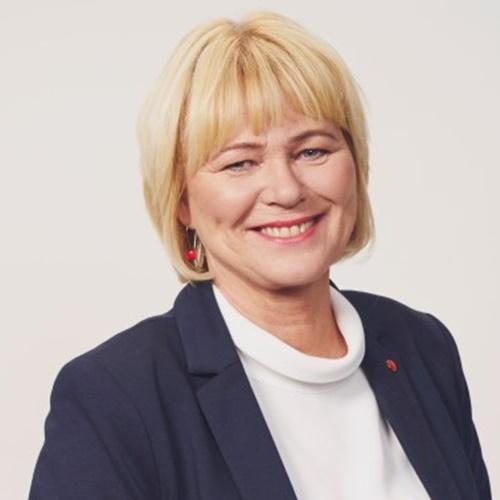 Oddný Harðardóttir, chair of Samfylkingin.