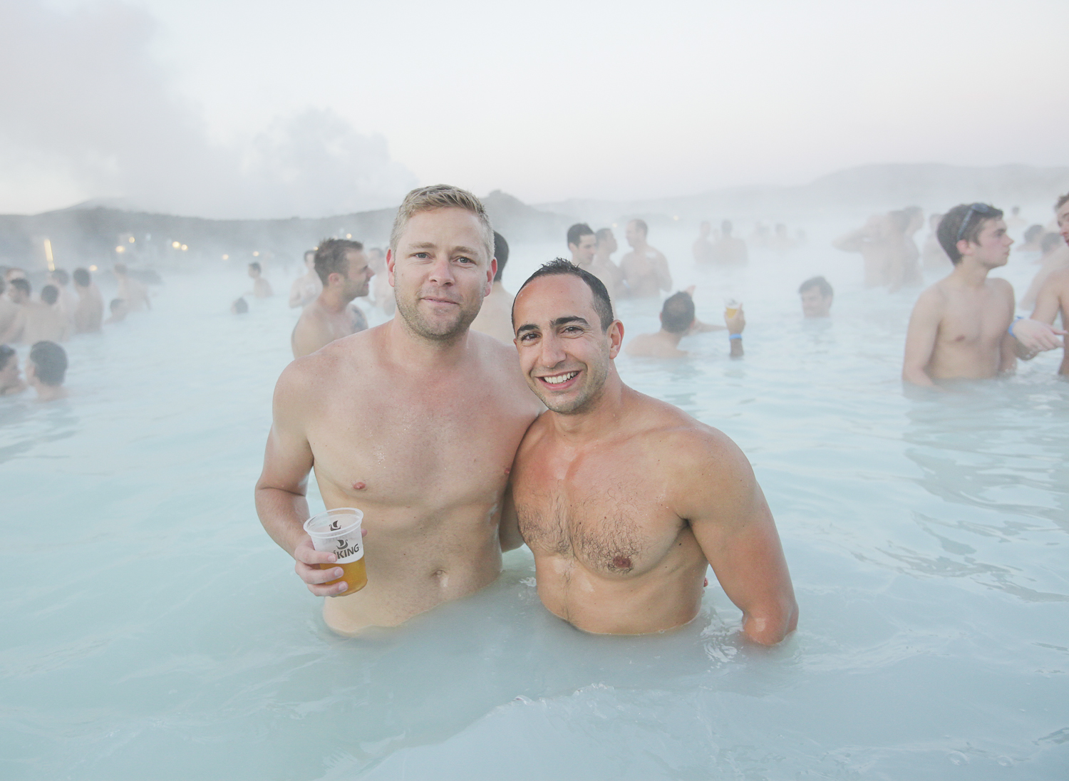 A hangovercure in the Blue Lagoon is included in the four day package.
