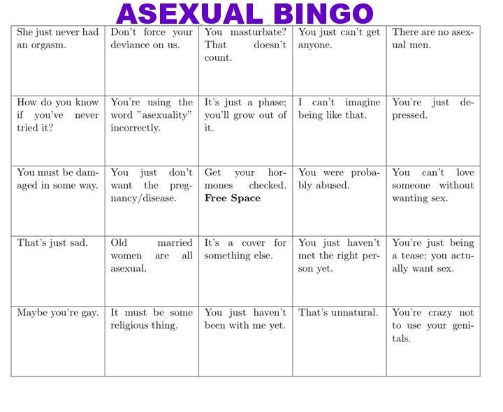 Asexual person is this hormonal